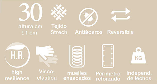 caracteristicas colchón feda Korflex